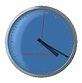Cypheros Desktop Clock